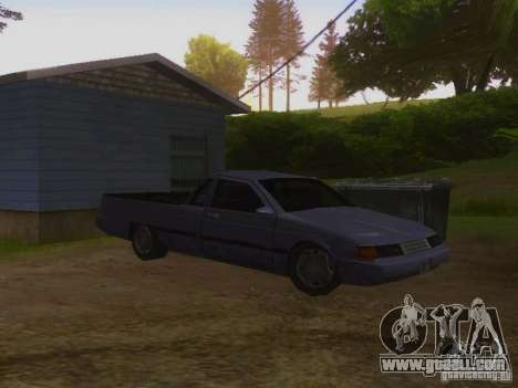 New Picador for GTA San Andreas back left view