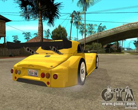 Morgan Aero 8 for GTA San Andreas back left view