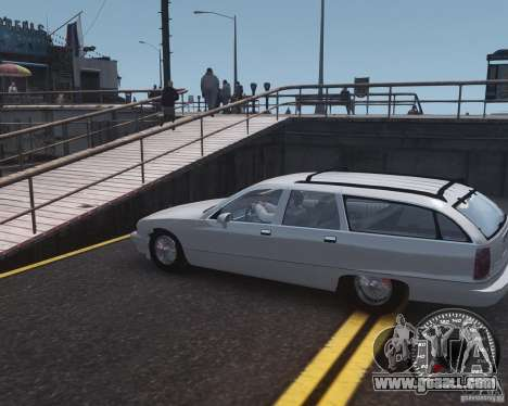 Chevrolet Caprice Wagon 1993 for GTA 4 left view