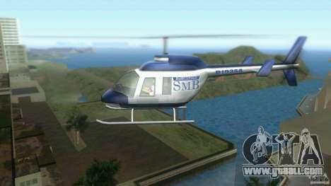 SubtopiCo SMB Maverick for GTA Vice City left view