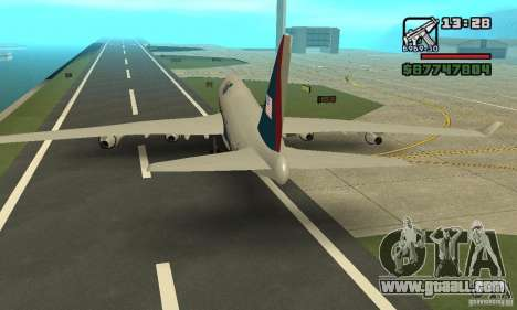 Aircraft from GTA 4 Boeing 747 for GTA San Andreas right view