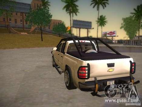 Chevrolet Silverado for GTA San Andreas right view
