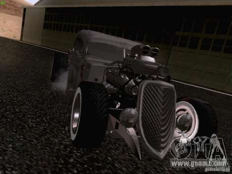Ford Pickup Ratrod 1936 for GTA San Andreas right view