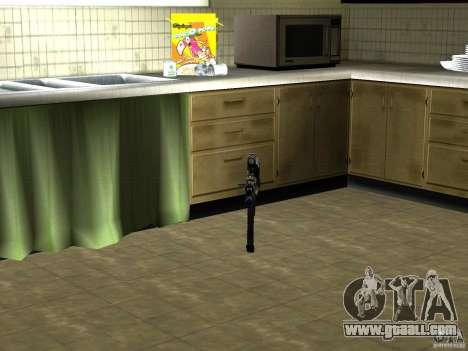 Pak domestic weapons version 2 for GTA San Andreas sixth screenshot
