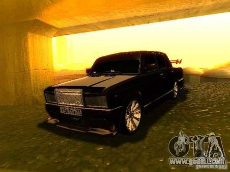 VAZ 2107 X-Style for GTA San Andreas