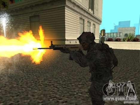 USA Army Ranger for GTA San Andreas third screenshot