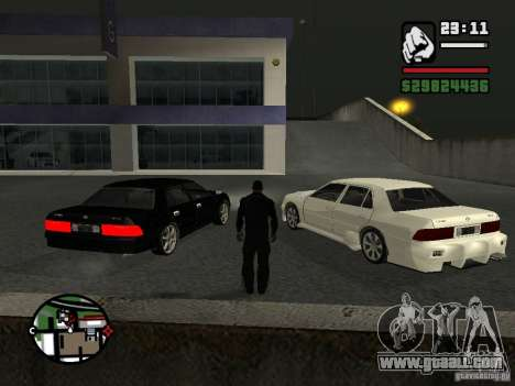 Toyota Crown Tunable for GTA San Andreas left view