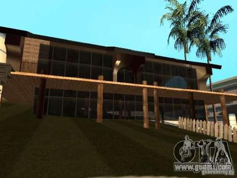 Villa in San Fierro for GTA San Andreas ninth screenshot