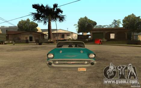 Chevrolet Bel Air 1956 Convertible for GTA San Andreas right view