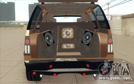 Cadillac Escalade 2004 for GTA San Andreas inner view