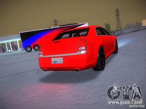 Chrysler 300C SRT8 2011 for GTA San Andreas inner view