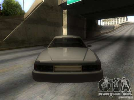 Merit Coupe for GTA San Andreas back view