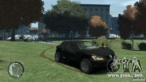Volkswagen Concept for GTA 4 right view