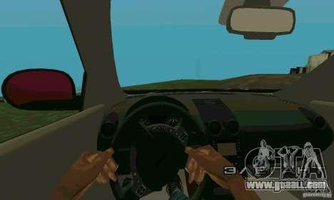 Nissan Juke for GTA San Andreas back view