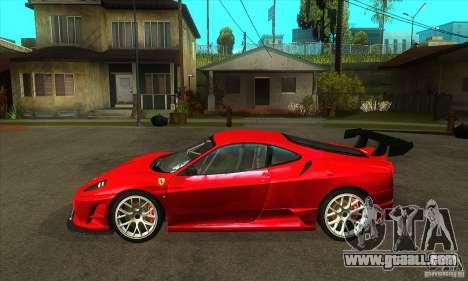 Ferrari F430 Scuderia 2007 FM3 for GTA San Andreas left view