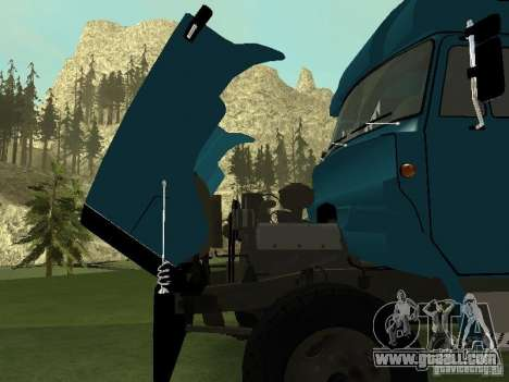 ZIL 133 for GTA San Andreas back view