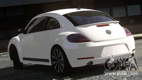 Volkswagen Beetle Turbo 2012 for GTA 4 back left view