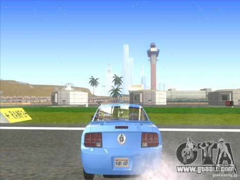 Ford Mustang Pony Edition for GTA San Andreas back left view