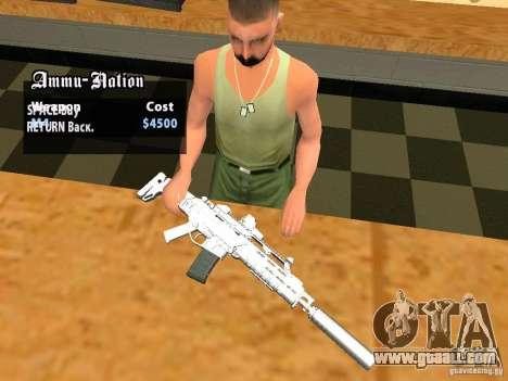 TeK Weapon Pack for GTA San Andreas