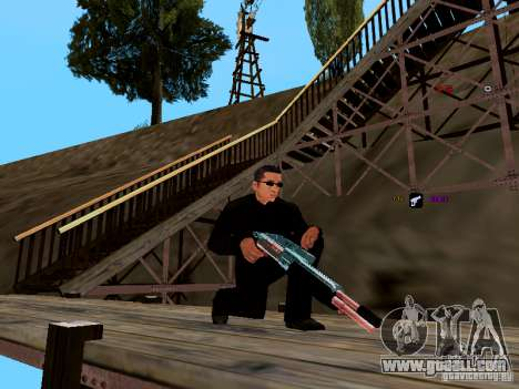 Ice Weapon Pack for GTA San Andreas seventh screenshot