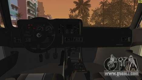 BMW M1 (E26) 1979 for GTA Vice City right view