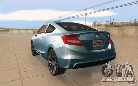 Honda Civic SI 2012 for GTA San Andreas right view
