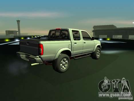 Nissan Frontier for GTA San Andreas back left view