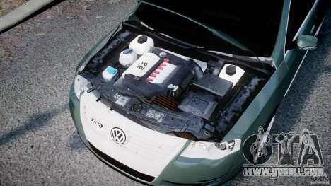Volkswagen Passat Variant R50 for GTA 4 inner view