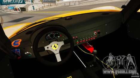 Ferrari F50 GT 1996 for GTA 4 back view