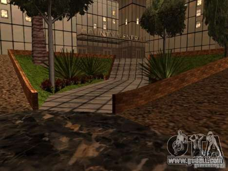 The new hospital in Los Santos for GTA San Andreas sixth screenshot