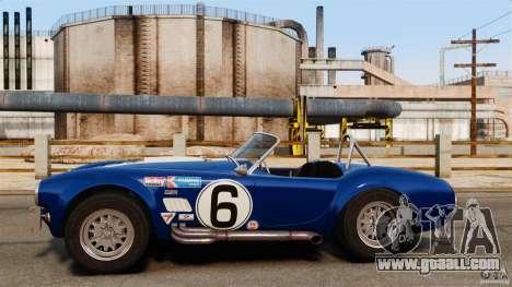 AC Cobra 427 for GTA 4 left view