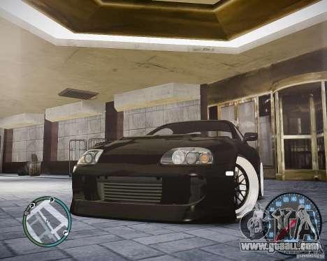 TOYOTA JZA80 SUPRA for GTA 4 right view