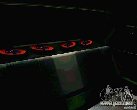 Tofas Dogan SLX DRIFT for GTA San Andreas upper view