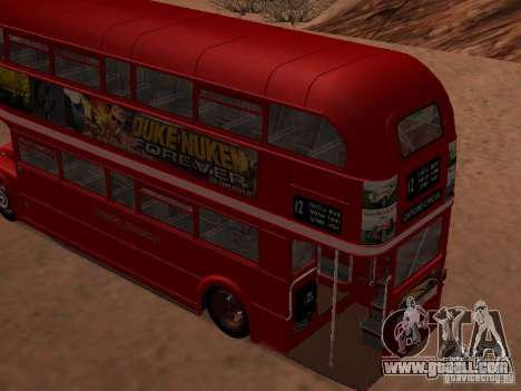 AEC RouteMaster RML for GTA San Andreas left view