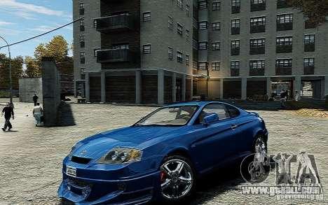 Hyundai Tuscani for GTA 4 right view