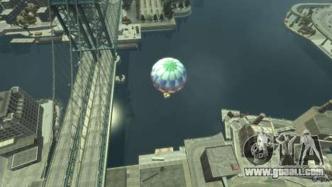 Balloon Tours option 2 for GTA 4 back left view