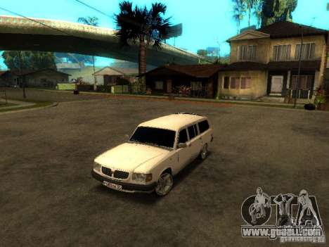 GAZ VOLGA 310221 TUNING version for GTA San Andreas left view