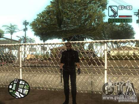 Wesker from RE5 for GTA San Andreas