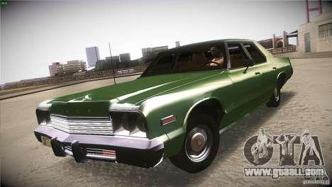 Dodge Monaco for GTA San Andreas right view