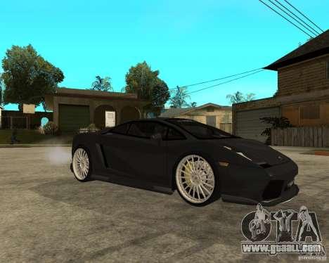 Lamborghini Gallardo HAMANN Tuning for GTA San Andreas right view