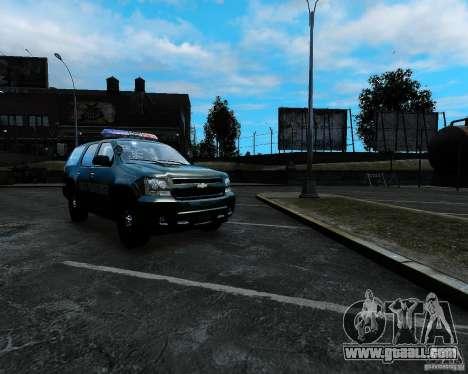 Chevrolet Tahoe Hungarian Vam-Zoll Custom for GTA 4