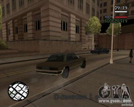 New pragmatic management for GTA San Andreas forth screenshot