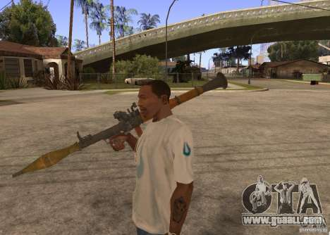 Weapon Pack by viter for GTA San Andreas