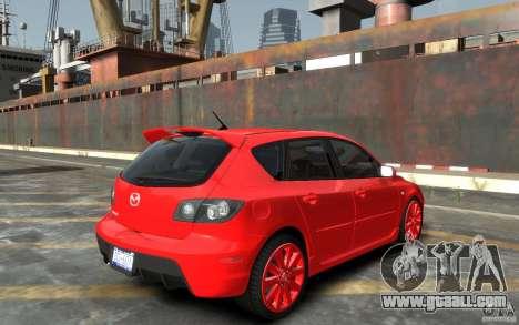 Mazda 3 for GTA 4 right view