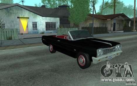 Chevrolet Impala SS 1964 for GTA San Andreas