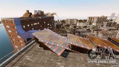Bike Challenge track + Huge Ramp for GTA 4 second screenshot