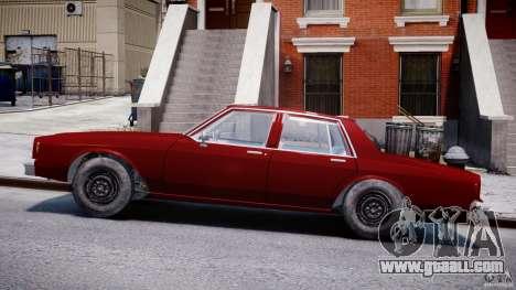 Chevrolet Impala 1983 v2.0 for GTA 4 left view