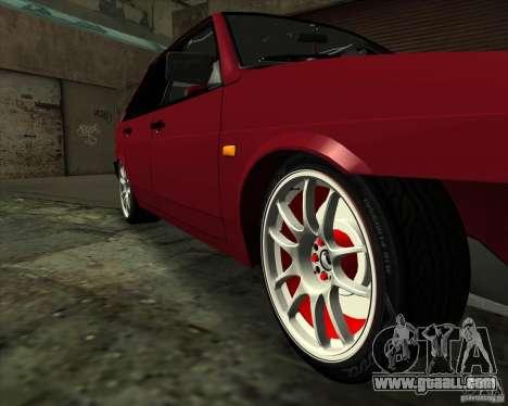 VAZ 2109 Drift for GTA San Andreas upper view