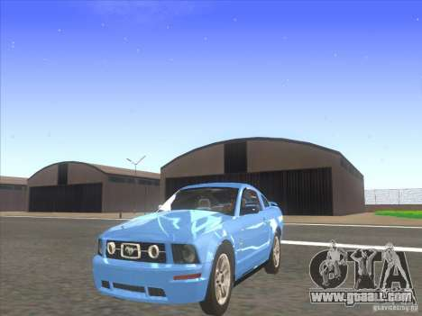 Ford Mustang Pony Edition for GTA San Andreas