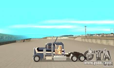 Peterbilt 359 for GTA San Andreas left view